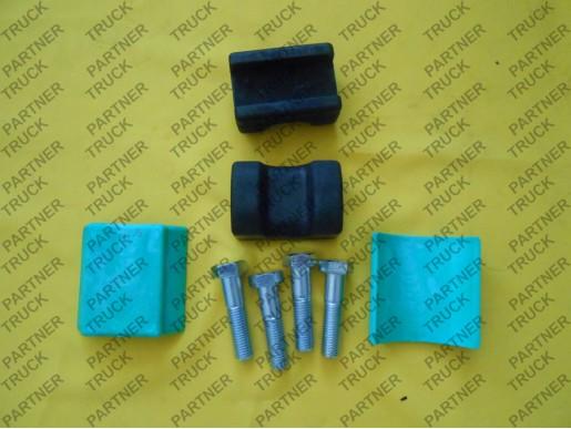Ремкомплект подвески седла (подушки+болты с шестигран.головкой)