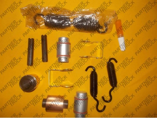 Ремкомплект тормозной колодки ROR AXL126PF