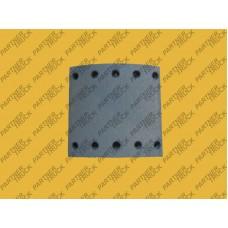 Накладки тормозные SAF, BPW 200X21 Eren 19094/3R