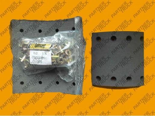 Накладки тормозные 180X20 SAF Lumag 19479