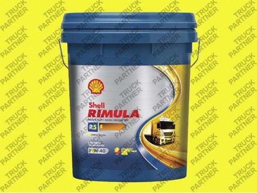 Моторное масло  10W40 SHELL R5E Rimula 20l Euro 3-4