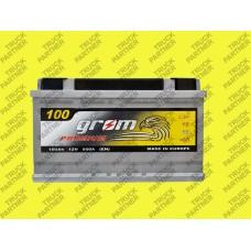 Акумулятор GROM Premium 100-0 (R+)