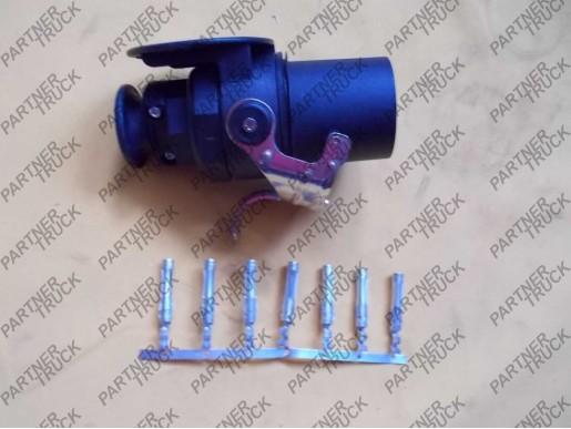 Вилка электрическая EБС 24v 7-пиновая