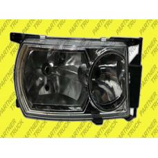 Фара основная нормальний тип без лампочки RH Scania P, R e-mark