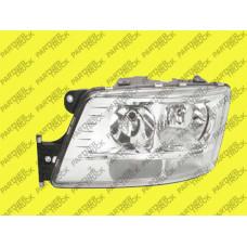 Фара основная эл / управления с дневной лампой LH Man TGX e-mark