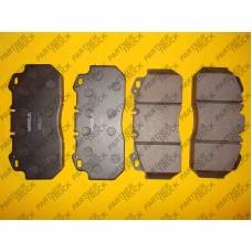 Тормозные колодки к-т,  RVI MAGNUM, PREMIUM; VOLVO B 12 D12A420-TD123ES 01.92-