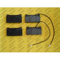 Тормозные колодки MB Unimog TRW 29325