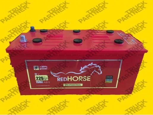Аккумулятор RED HORSE 225 (1500A) Днепр