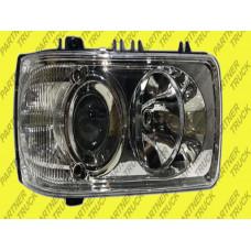 Фара основная нормальный тип без лампочки RH Daf XF105, CF, LF e-mark,