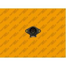 Розетка электрическая для грузового автомобиля 7 пин N 24V универсальная