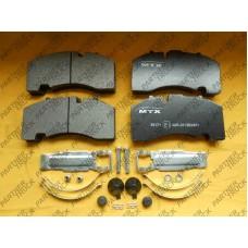 Колодки тормозные BPW MTX-29171
