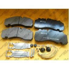 Колодки тормозные BPW KNORR SB7/SN7 29167