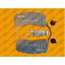 Колодки тормозные BPW SB3745T 29165