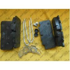 Колодки тормозные DAF MTX-29088P