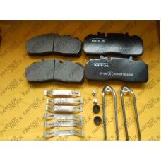 Колодки тормозные SAF MTX-29126