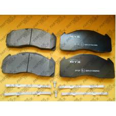 Колодки тормозные MTX-29125 VOLVO, ROR