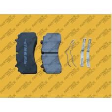 Колодки тормозные SAF (WABCO) 29162