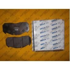 Тормозные колодки к-т, пд/зд MERCEDES 900, ECONIC, INTEGRO   09.81-