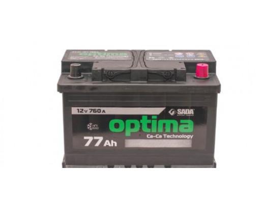 Акумулятор 77AH 760A 6СТ-77Аз Optima
