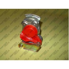 Головка соединительная  M22 (красная без клапана)