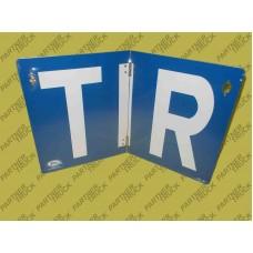 Табличка TIR складная
