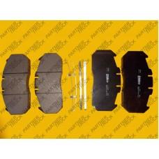 Колодки тормозные MAN TGA/RVI Valeo 29131