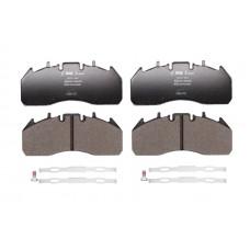 Комплект тормозных колодок, дисковый тормоз, 29174