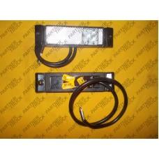 Габаритный фонарь  бе́лый  с отражателем LD 127
