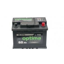 Акумулятор 60AH 570A 6СТ-60Аз Optima