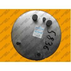 Пневмоподушка 836MB без стакана (2 штуц) DAF 95XF